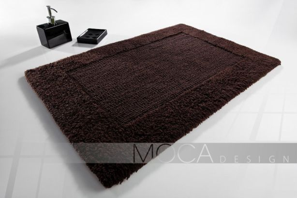 Dywanik Moca design 50x75 cotton brown