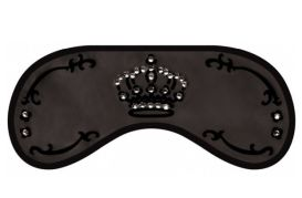 Opaska na Oczy Swarovski - Crown black