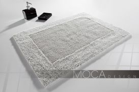 Dywanik Moca design 50x75 cotton silver