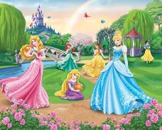 Tapeta 3D Walltastic - Disney Princess
