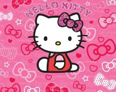 Tapeta 3D Walltastic - HELLO KITTY