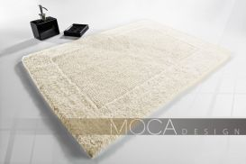 Dywanik Moca design 60x105 cotton ecrue