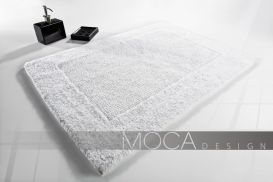 Dywanik Moca Design 70x130 cotton white