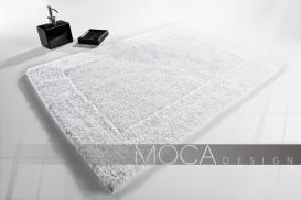 Dywanik Moca design 50x75 cotton white