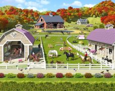 Tapeta 3D Walltastic - Horse and Pony