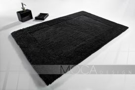 Dywanik Moca design 50x75 cotton black