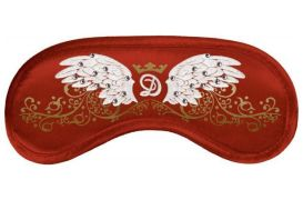 Opaska na Oczy Swarovski - Wings red