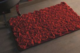 Dywanik Aquanova Rose red 70x120 cm