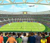 Tapeta 3D Walltastic - Football Crazy