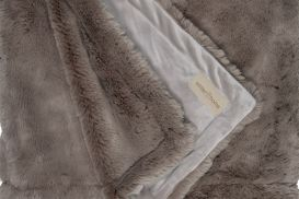 Koc futrzany Winter-Home SEAL taupe