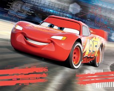 Tapeta 3D Walltastic - Cars