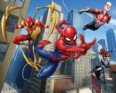 Tapeta 3D Walltastic - Spiderman Team