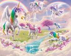 Tapeta 3D Walltastic - Magical Unicorn